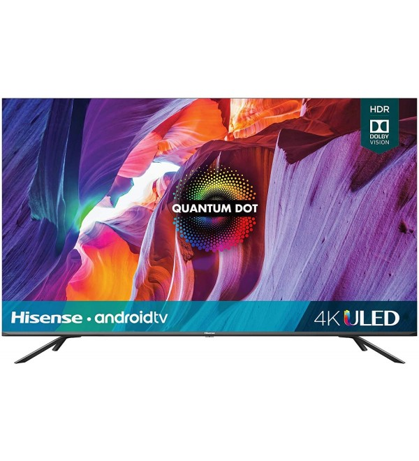 50-Inch Class H8 Quantum Series Android 4K ULED Smart TV with Voice Remote (50H8G, 2020 Model) (Renewed)