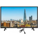 Liyeehao 4K TV, HDR TV, 32inch Large Curved Screen for Hotel Indoor, Home,(Australian regulations)
