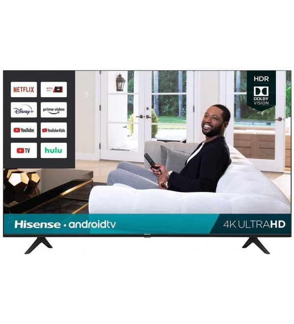 50-Inch Class H6570G 4K Ultra HD Android Smart TV with Alexa Compatibility   2020 Model