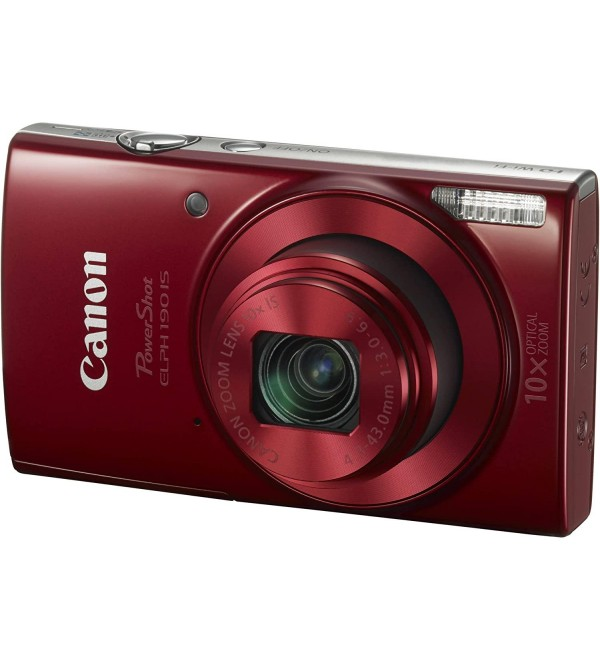 TNC 1087C001 ELPH 190 RED 20MP 2.7IN LCD