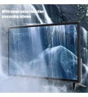 43-Inch HD HDR LCD TV, 1080P Digital Television, Voice Searching Function, Supports USB/HDMI/RF Antenna Input/Headphone Output(Black)