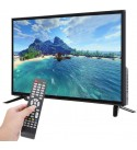 Wendry 43-inch HD LCD Smart TV 19201080, Multi-Functional Online Edition 4K TV, Supports Network Cable+Wireless WiFi Ultra HD TV(US)