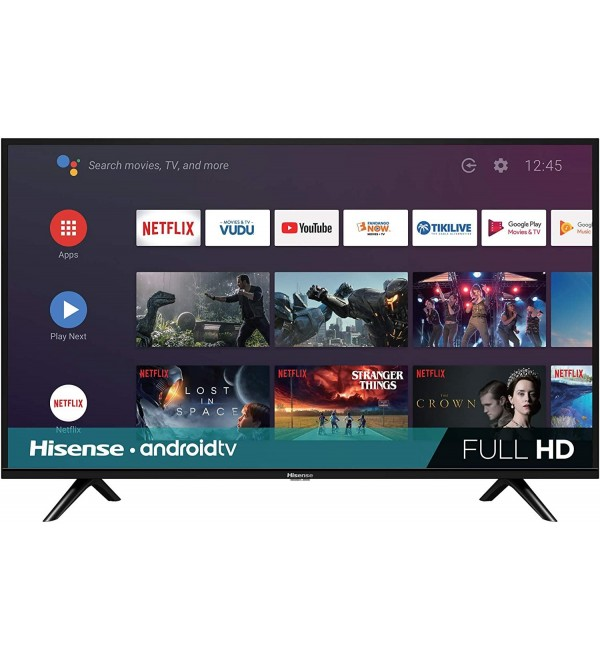 40-Inch 40H5500F Class H55 Series Android Smart TV with Voice Remote (2020 Model)